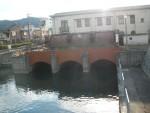 琵琶湖にある琵琶湖疎水の取水口 琵琶湖疏水を辿って、ここまで来てしまいました。